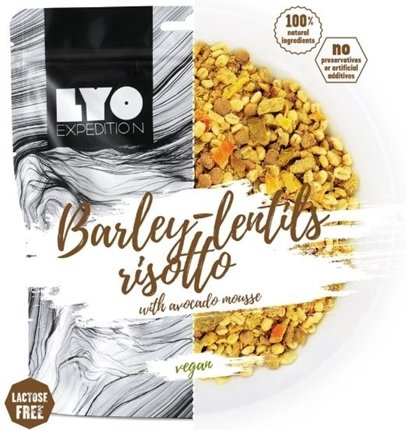 LYO Food Barley Lentils Risotto