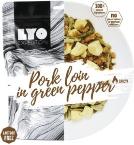 LYO Food Pork Loin in Green Pepper
