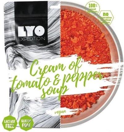 LYO Food Cream of tomato & pepper soup