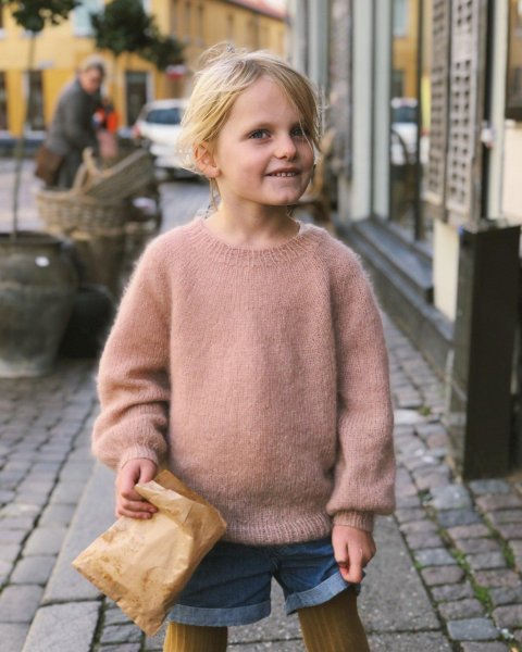 Novice Sweater Jr - Mohair Edition