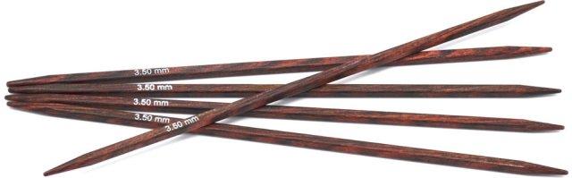 Knitpro Cubics Bjørk Strømpepinner 20 cm