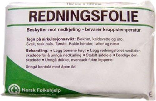 Norsk Folkehjelp Redningsfolie