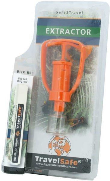 TravelSafe Ekstraktor og krem for insektsbittslindring