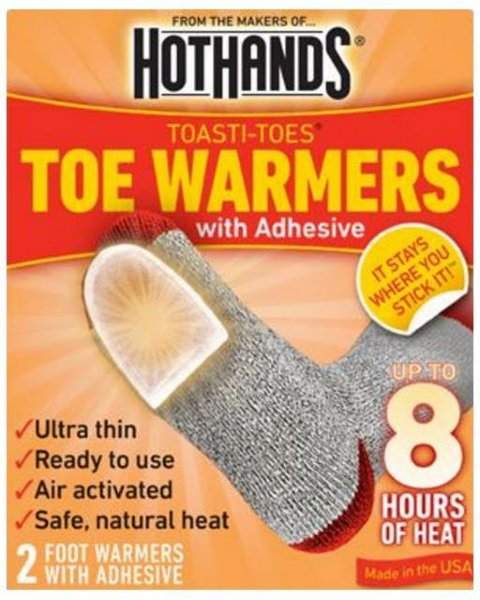 HotHands Tåvarmere