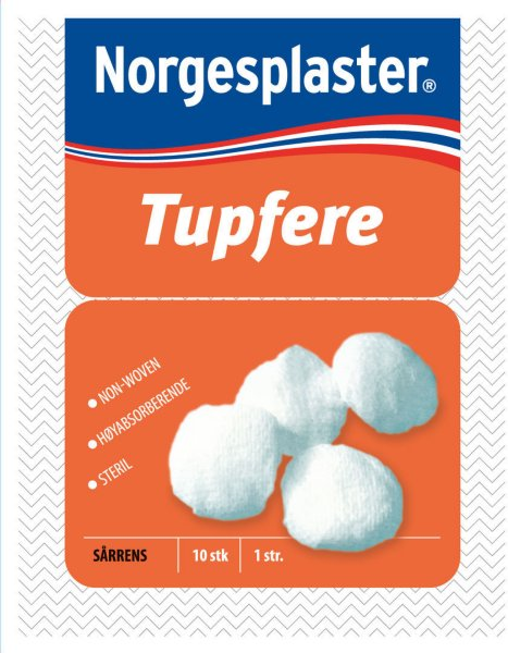 Norgesplaster Steril tupfere