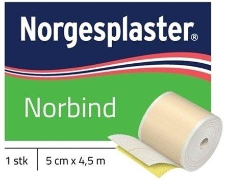 Norgesplaster Norbind 5cmx4,5m