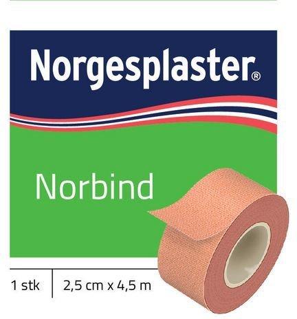 Norgesplaster Norbind 2,5cmx4,5m