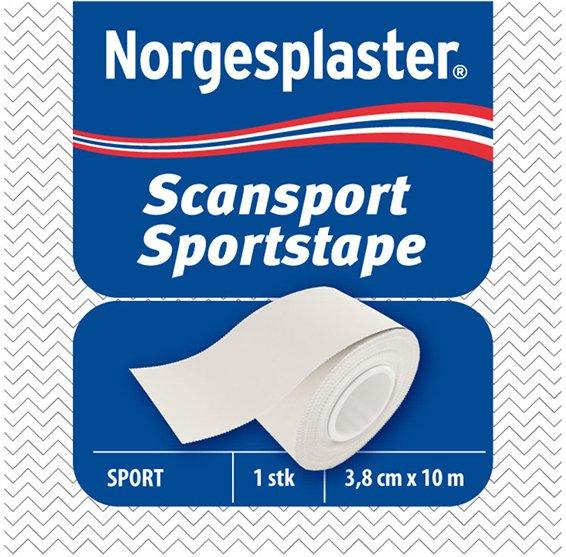 Norgesplaster Scansport sportstape 3,8cmx10m