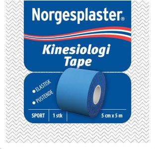 Kinesiologi tape 5cmx5m blå