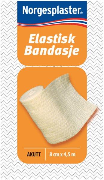 Norgesplaster Elastisk bandasje 8cmx4,5m