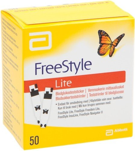 Abbott FreeStyle Lite 50 stk