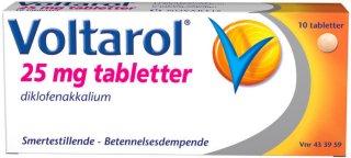 25 mg tabletter 10 stk