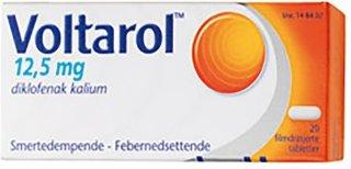 12,5 mg tabletter 20 stk