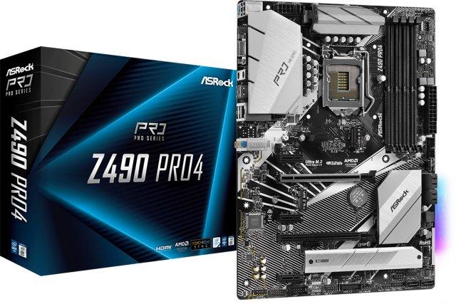 ASRock Z490 Pro4