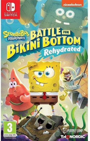 SpongeBob SquarePants: Battle for Bikini Bottom - Rehydrated til Switch