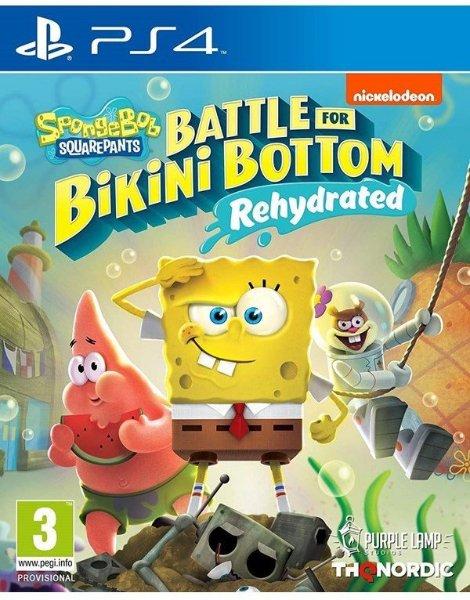 SpongeBob SquarePants: Battle for Bikini Bottom - Rehydrated til Playstation 4