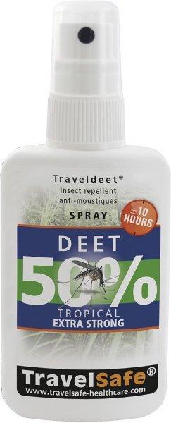 TravelSafe TravelDeet 50% spray