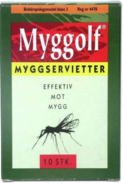 Myggolf Myggservietter
