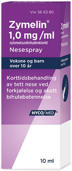 Nycomed Zymelin 1 mg/ml