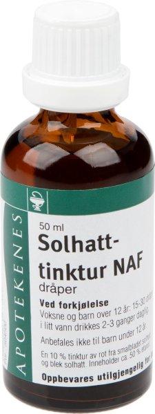 Norges Apotekerforening Solhattinktur dråper