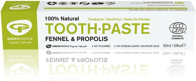 Green People Toothpaste Fennel & Propolis