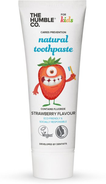 The Humble Co. Natural Toothpaste Kids Strawberry