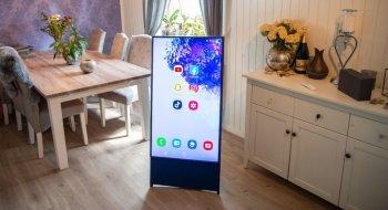 Test: Samsung The Sero QE43LS05T