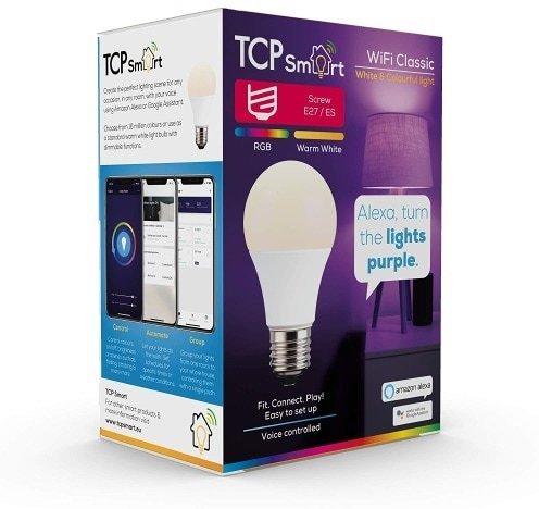 TCP Smart WiFi LED Classic E27 RGBW