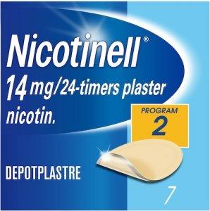 Depotplaster 14 mg/ 24 timer