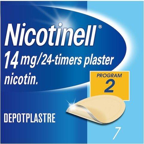 Nicotinell Depotplaster 14 mg/ 24 timer