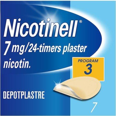 Nicotinell Depotplaster 7mg/ 24 timer