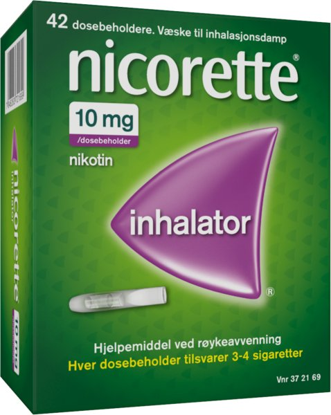 Nicorette Inhalator 10 mg/dose