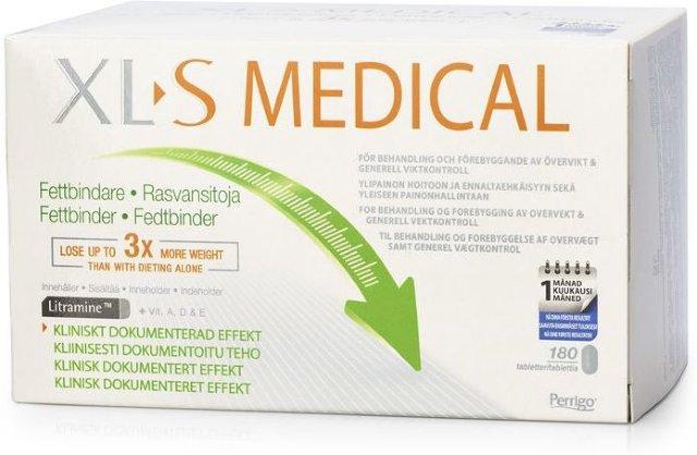 XL-S Medical Fettbinder tabletter