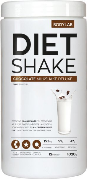 Bodylab Diet Shake Chocolate Milkshake 1000g