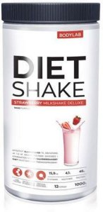 Bodylab Diet Shake Strawberry Milkshake 1000g