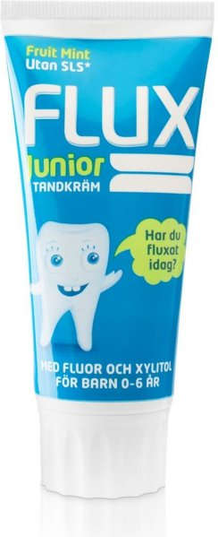Flux Junior Tannkrem Fruitmint