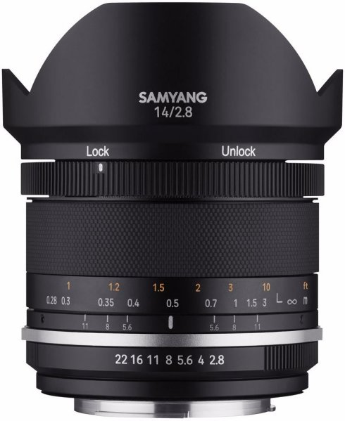 Samyang MF 14mm f/2.8 Mk2 for Canon EF