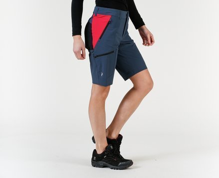Peak Performance Light Softshell Carbon Shorts (Dame)