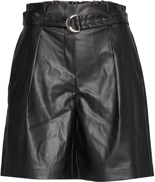 Only Helena Faux Leather Shorts