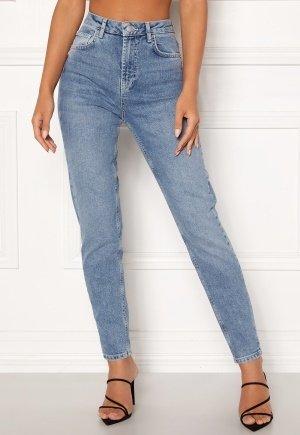 Pieces Leah Mom Ankle Jeans