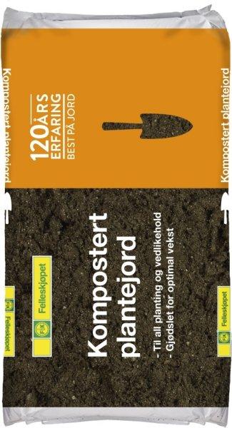 Plantejord Kompostert 40L