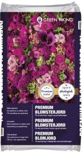 Blomsterjord Økologisk 40L