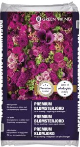 Blomsterjord Økologisk 15L