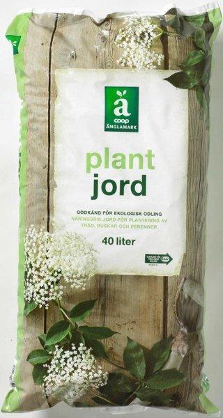 Plantejord Økologisk 40L