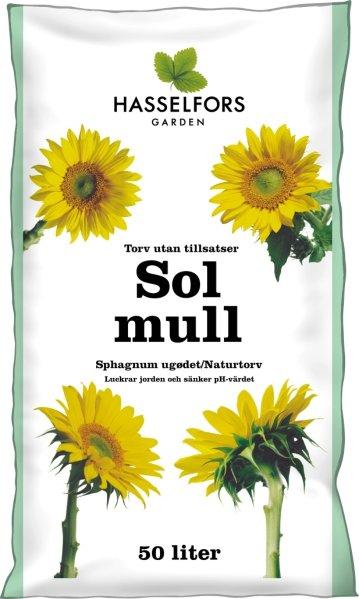 Hasselfors Solmull Naturtorv 50L