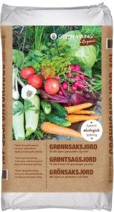 Grønnsaksjord 40L