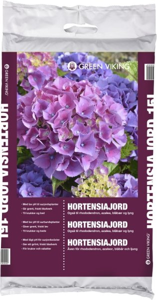 Hortensiajord 15L