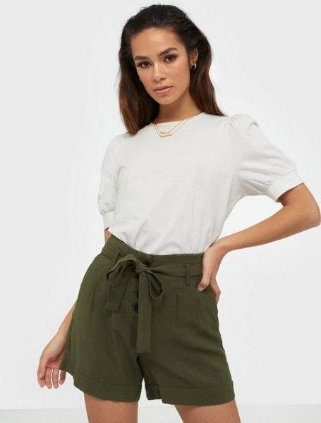 Only Kaylee Belt Shorts