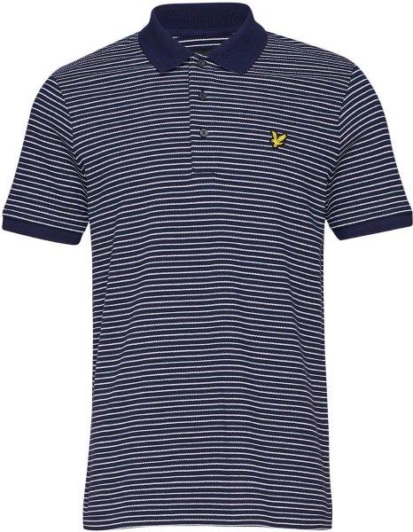 Lyle & Scott Fine Stripe Poloskjorte (Herre)
