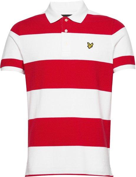 Lyle & Scott Wide Stripe Poloskjorte (Herre)